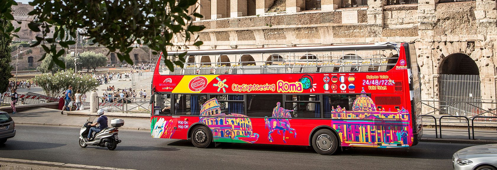 Hop-on Hop-off bussen Rome